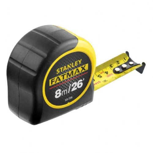 Stanley 033726 Fatmax BladeArmor Pocket Tape Measure 8m26ft (Width 32mm)